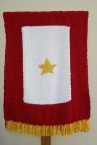 Dover Gold star prayer shawl
